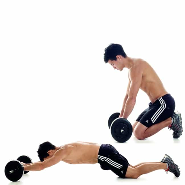 How To Do Ab Roller Exercise With A Barbell