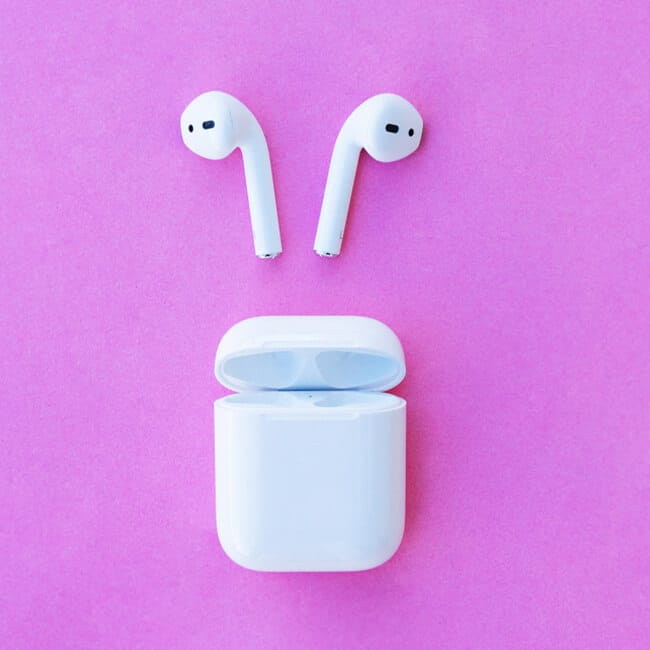 avoid water damage when cleaning airpod