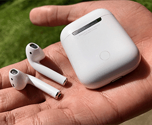 how to remove water from airpods