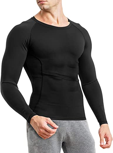 tight fitting compression shirt