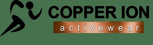 copper ion activewear black logo