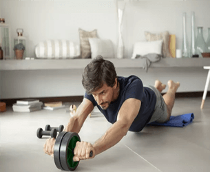 Ab Roller Exercise At Home Thumbnail
