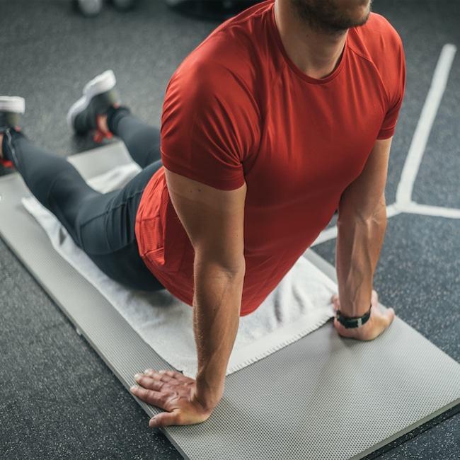 Abdominal Stretching After Ab Roller Workout