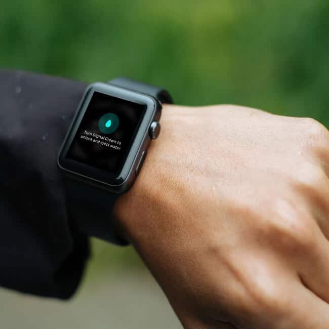 Apple Watch Water Eject