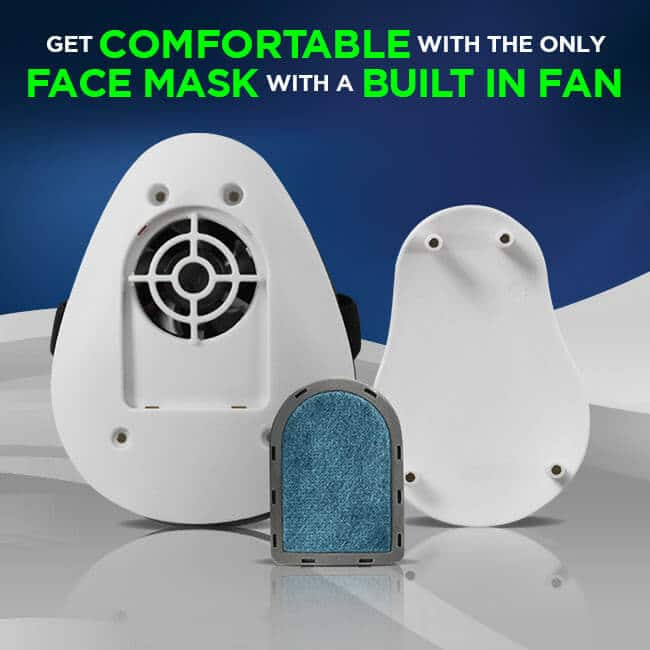 Face Mask With Built In Air Purifier